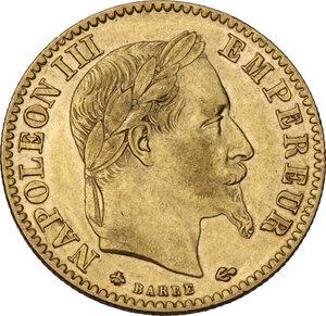 obverse: France. Napoleon III (1852-1870).10 Francs 1868 A, Paris mint