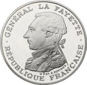 obverse: France. Fifth Republic (1958-).100 Francs 1987 La Fayette