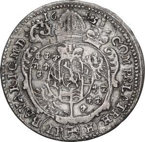 reverse: Germany. Franz Ludwig von Pfalz-Neuburg (1683-1732). 6 Kreuzer 1693, Breslau mint