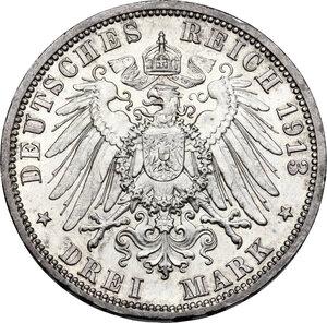 reverse: Germany, Preussen. Wilhelm II (1888-1918).3 Mark 1913 A, Berlin mint