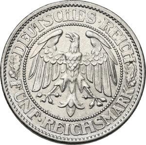obverse: Germany. Weimar Republic (1918-1933). 5 Reichsmark 1932 A, Berlin mint