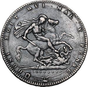 reverse: Great Britain. George III (1760-1820). Crown 1820