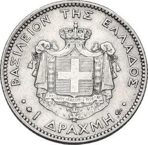 reverse: Greece. George I (1863-1913).Drachme 1873 A