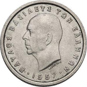 obverse: Greece. Paul I (1947-1964).2 Drachmai 1957