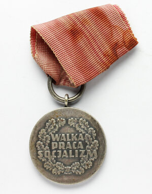 reverse: Poland. Medal with original ribbon, XXX anniversary of the Polish People s Republic: 1944-1974