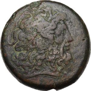 obverse: Egypt, Ptolemaic Kingdom. Ptolemy IV Philopator (222-205 BC).AE Drachm, Alexandria mint, c. 221-205 BC