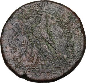 reverse: Egypt, Ptolemaic Kingdom. Ptolemy IV Philopator (222-205 BC).AE Drachm, Alexandria mint, c. 221-205 BC