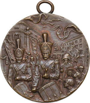 obverse: Switzerland. Commemorative medal 1914 for the 100 years from the reunification of Geneve to the Switzerland