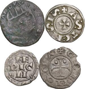 obverse: Zecche Italiane. Lotto di quattro (4) monete per le zecche di Asti, Cremona, L Aquila e Pavia