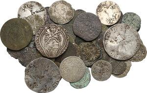 obverse: Zecche Italiane. Lotto di sessantuno (61) monete medievali da classificare
