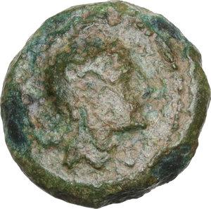 obverse: Anonymous. AE Half-bronze, c. 234-231 BC