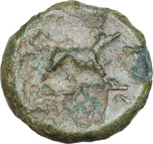 reverse: Anonymous. AE Half-bronze, c. 234-231 BC