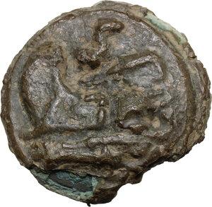 reverse: Post-semilibral series.AE Cast Semis, c.215-212 BC