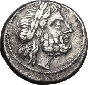 obverse: MP series.AR Victoriatus, c. 211-208 BC