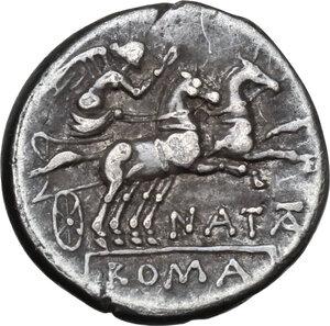 reverse: Pinarius Natta.AR Denarius, 149 BC