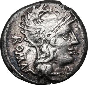 obverse: C. Caecilius Metellus Caprarius.AR Denarius, 125 BC