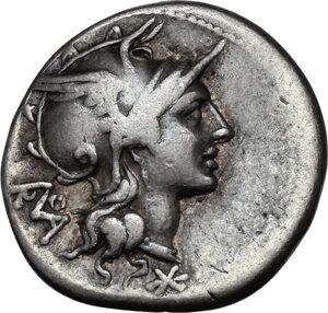 obverse: T. Didius.AR Denarius, 113-112 BC