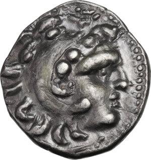 obverse: Celtic, Eastern Europe. AR Drachm imitating Alexander III of Macedon, c. 3rd century BC, Chios mint