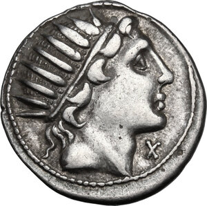 obverse: Man. Aquillius.AR Denarius, 109-108 BC