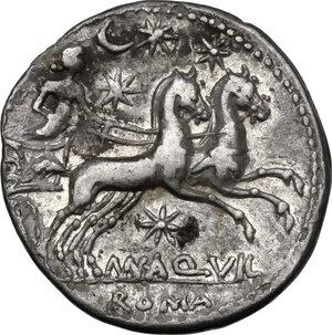 reverse: Man. Aquillius.AR Denarius, 109-108 BC