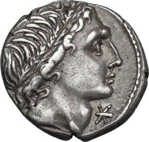 obverse: L. Memmius.AR Denarius, 109-108 BC