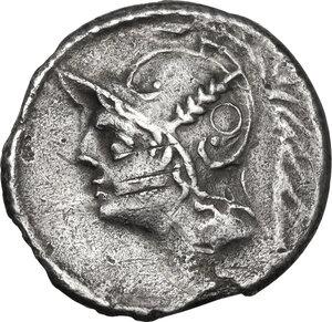 obverse: Q. Thermus M.f. AR Denarius, 103 BC