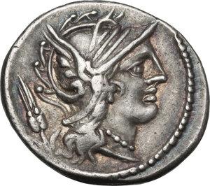 obverse: L. Iulius.AR Denarius, 101 BC