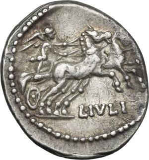 reverse: L. Iulius.AR Denarius, 101 BC