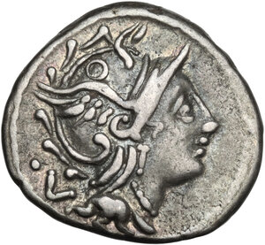 obverse: C. Fundanius. AR Denarius, 101 BC