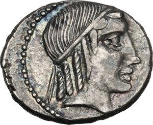 obverse: C. Censorinus.AR Denarius, 88 BC
