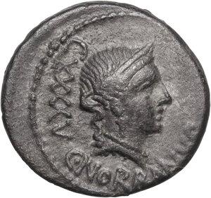 obverse: C. Norbanus.AR Denarius, 83 BC