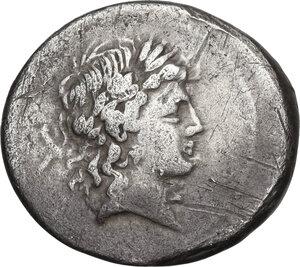 obverse: L. Censorinus. AR Denarius, 82 BC