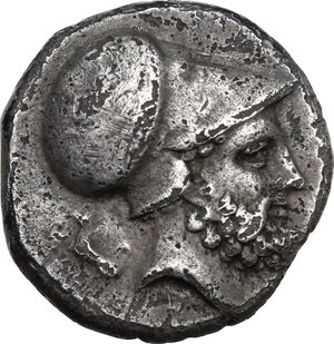 obverse: Southern Lucania, Metapontum. AR Stater, c. 340-330 BC