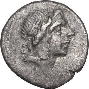 obverse: Anonymous.AR Quinarius, 81 BC