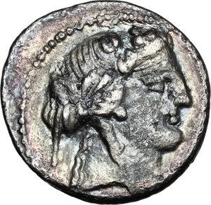 obverse: M. Volteius M.f.AR Denarius 78 BC