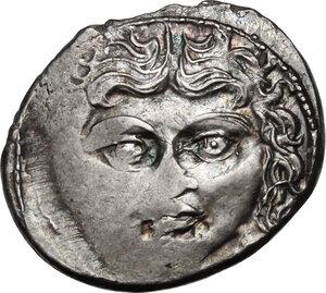 obverse: L. Plautius Plancus.AR Denarius, 47 BC