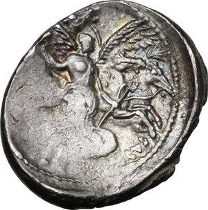 reverse: L. Plautius Plancus.AR Denarius, 47 BC