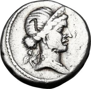 obverse: Julius Caesar.AR Denarius, 46-45 BC