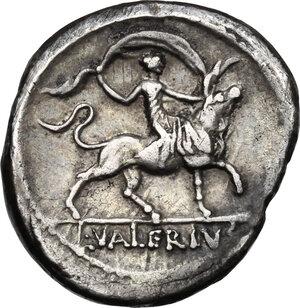reverse: L.Valerius Acisculus.AR Denarius, 45BC