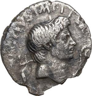 obverse: Sextus Pompey. AR Denarius, Sicily, 42-40 BC