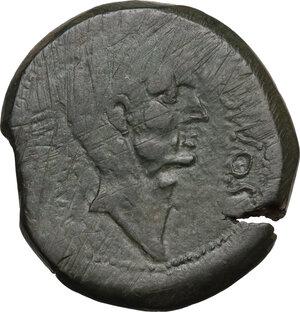 reverse: Octavian. Bronze, 38 BC, Italy