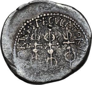 reverse: Mark Antony.AR Denarius, autumn 32-spring 31 BC. Legionary issue. Patrae(?) mint