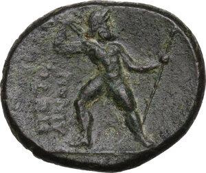 reverse: Bruttium, Petelia. AE 20.5 mm, late 3rd century BC