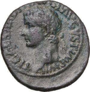 obverse: Tiberius (14-37).AE As, 35-36 AD