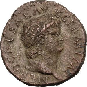 obverse: Nero (54-68).AE As, Rome mint