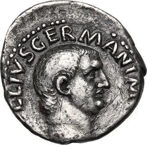 obverse: Vitellius (69 AD).AR Denarius, Rome mint