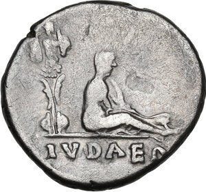 reverse: Vespasian (69-79 AD).AR Denarius, Rome mint, 70 AD