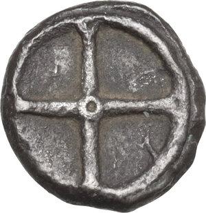 reverse: Gela. AR Obol, 480-470 BC