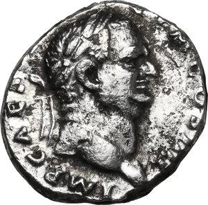 obverse: Vespasian (69-79 AD).AR Denarius, 72-73 AD