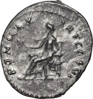 reverse: Vespasian (69-79 AD.).AR Denarius, 75 AD, Rome mint